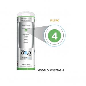 Filtro Whirlpool Agua para refrigeradores Filtro 4